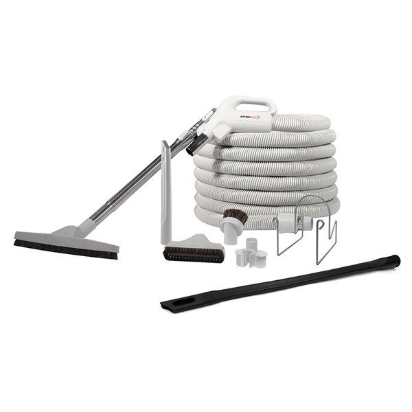Ensemble d'accessoires par Drainvac pour aspirateur central, 35 pi