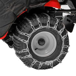 Chaînes pour pneu de tracteur de pelouse de 18 po x 8,5 po x 8 po par Arnold