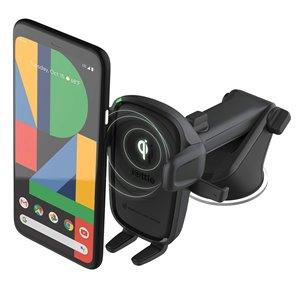 Support de voiture réglable noir Easy One Touch 2 pour téléphones portables universels par iOttie