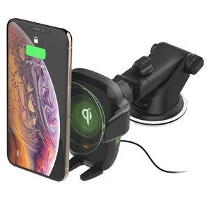 Support de voiture réglable Auto Sense noir pour téléphones portables universels par iOttie