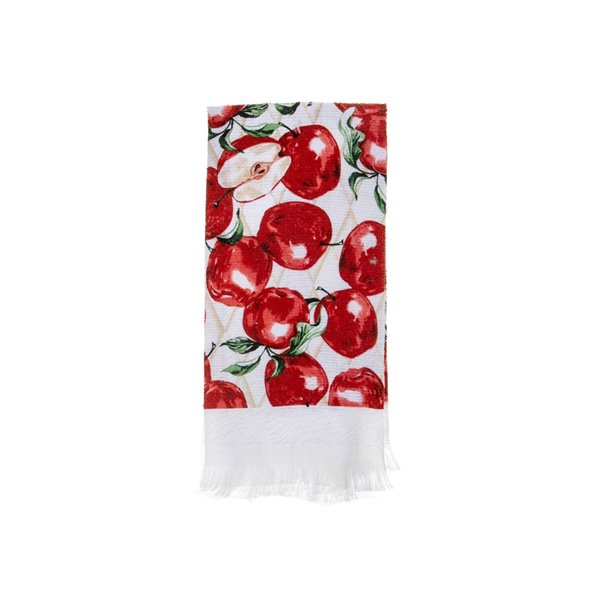 Ensemble de 6 serviettes de main avec motifs de pommes fraîches par IH Casa Decor