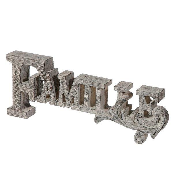 Décoration de table en polyrésine (Famille) de IH Casa Decor