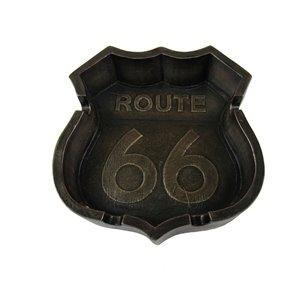 Cendrier à l'effigie de la Route 66 par IH Casa Decor
