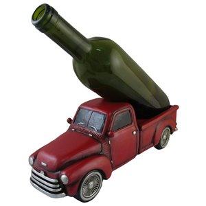 Support à vin en forme de camion en bois à 1 bouteille de IH Casa Decor
