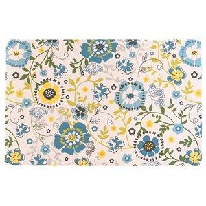 IH Casa Decor Spring Blue PVC Placemat - Set of 12