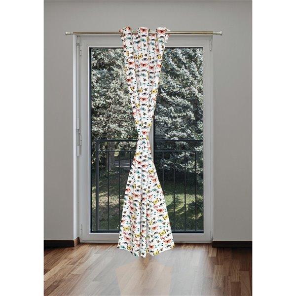 Panneaux de rideaux assombrissants en polyester de 86 po par IH Casa Decor