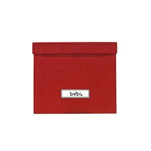 Boîte rouge de 9,75 po l. x 6,5 po h. x 8,25 po p. par IH Casadecor