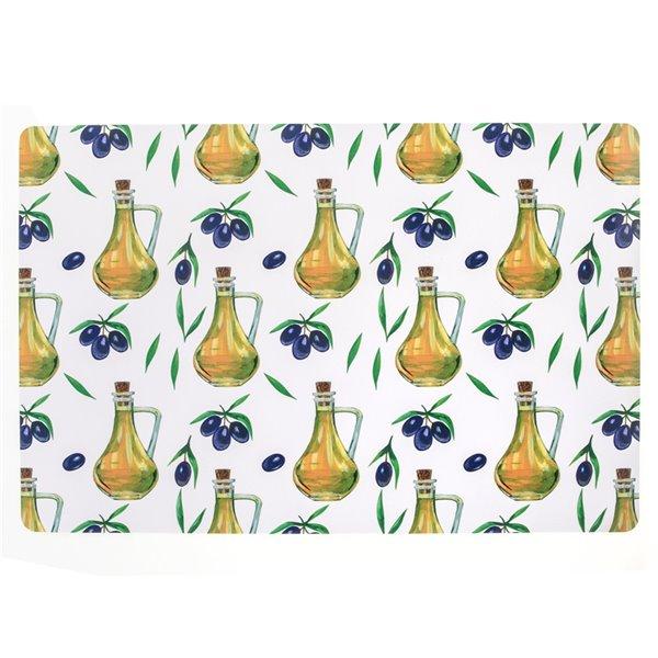 IH Casa Decor Olive Oil PVC Placemat - Set of 12