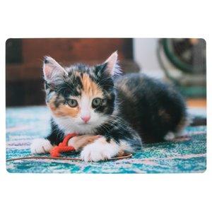IH Casa Decor Kitten Playing Toy Pvc Placemat - Set of 12
