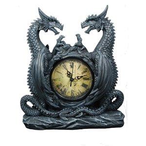 Horloge Les étoiles du dragons de 11,5 po par IH Casa Decor