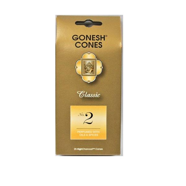 Cônes classiques n°2 Gonesh, huiles et épices (Lot de 8) par IH Casa Decor