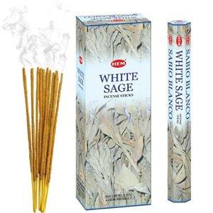 IH Casa Decor Hem Incense (20 Sticks) - White Sage - Set of 6