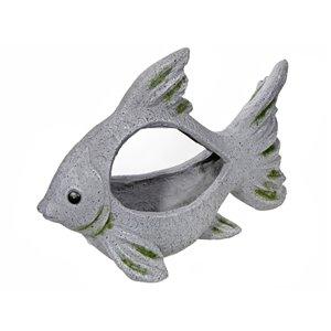 IH Casa Decor MGO Garden Fish Figurine Planter