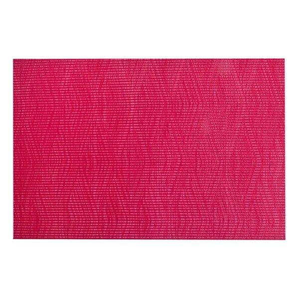 Ensemble de 12 napperons Remi en vinyle rouge de IH Casa Decor