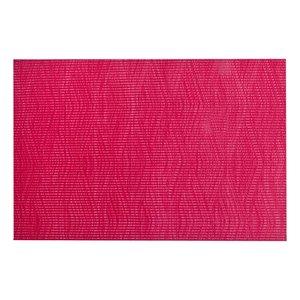 IH Casa Decor Remi Red Vinyl Placemat - Set of 12