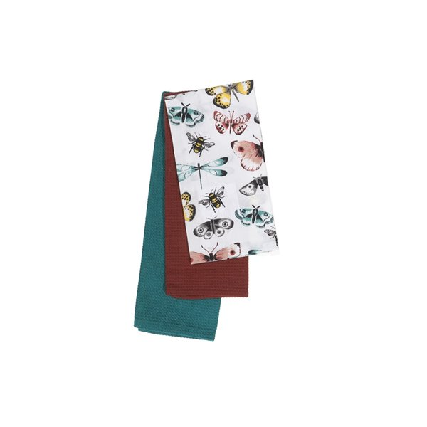Linge à vaisselle avec papillons de IH Casa Decor
