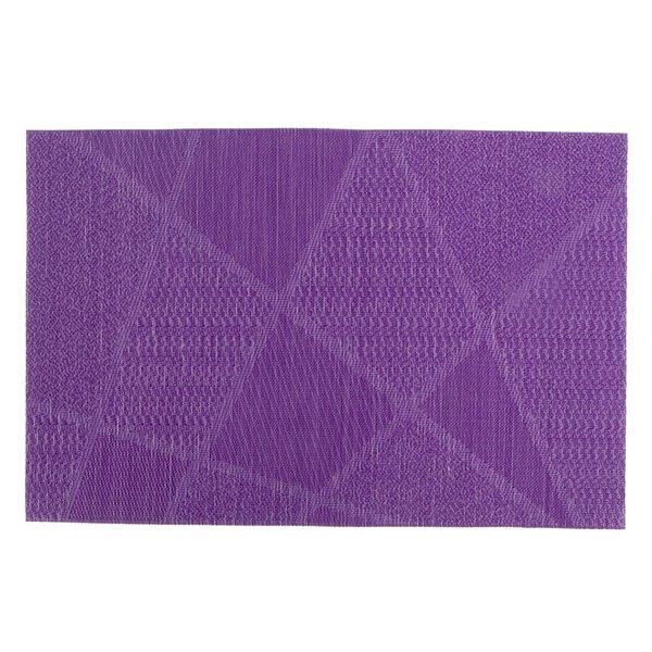 IH Casa Decor Electrify Purple Vinyl Placemat - Set of 12