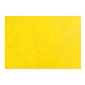IH Casa Decor Electrify Yellow Vinyl Placemat - Set of 12