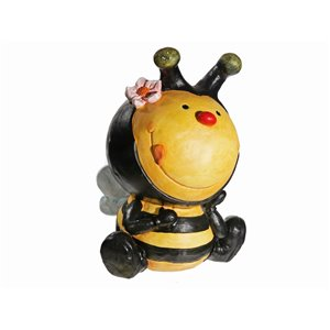 IH Casa Decor MGO Garden Honey Bee Figurine Planter