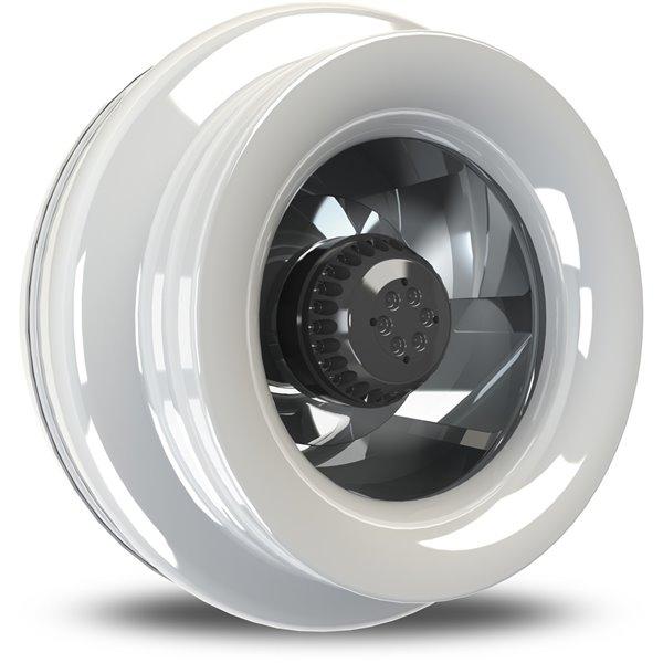 Ventilateur centrifuge de 403 pcm et 1/5 hp avec capacité de connexion en guirlande, par Vortex Powerfan