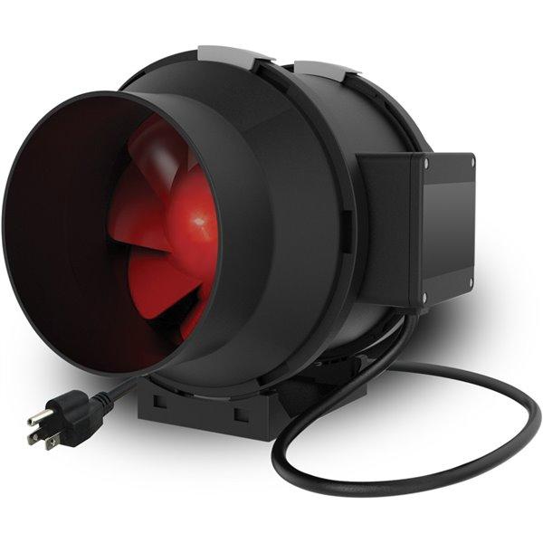 Ventilateur centrifuge de 157 pcm et 1/8 hp avec capacité de connexion en guirlande, par Vortex Powerfan