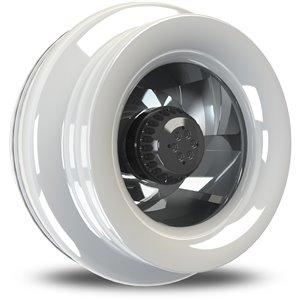 Ventilateur centrifuge de 173 pcm et 1/8 hp avec capacité de connexion en guirlande, par Vortex Powerfan