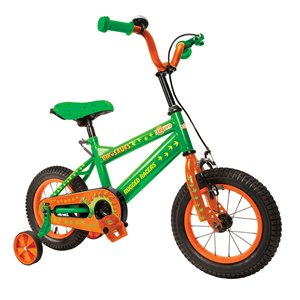 Rugged Racers 12-in Kids Bike with Dinosaur Design