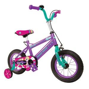 Rugged Racers 12-in Kids Bike with Unicorn Design