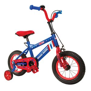 Rugged Racers 12-in Kids Bike with Captain America Design