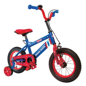 Rugged Racers 16-in Kids Bike with Captain America Design