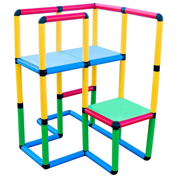 Ensemble de structure de jeu Funphix Create and Play Standard, 199 mcx