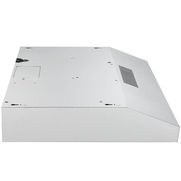Hotte de cuisinière sous-armoire convertible Ancona en acier inoxydable de 30 po