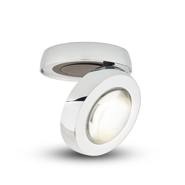Plafonnier à DEL intégré par Vonn Lighting Orbit Series 5,25 po,  chrome moderne/contemporain, certifié Energy Star