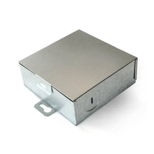 Lampe encastrée à DEL intégré par Vonn Lighting Node Series 4,25 po,  chrome, moderne/contemporain, certifié Energy Star