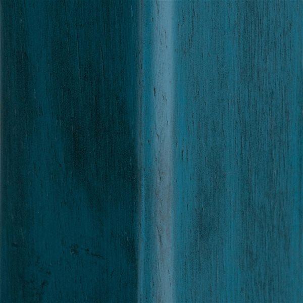 Tabouret de bar Ivy sarcelle rustique/noyer par Winsome Wood