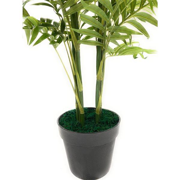 Bambou artificiel vert de 75 po par Decor+