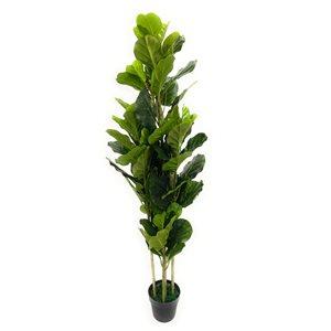 Ficus artificiel vert de 75 po par Decor+