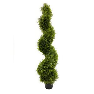 Arbre topiaire artificiel vert de 58 po par Decor+