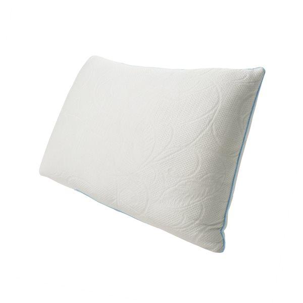 Oreiller ferme Protect-A-Bed en mousse à mémoire de forme pour grand lit, emballage de 1