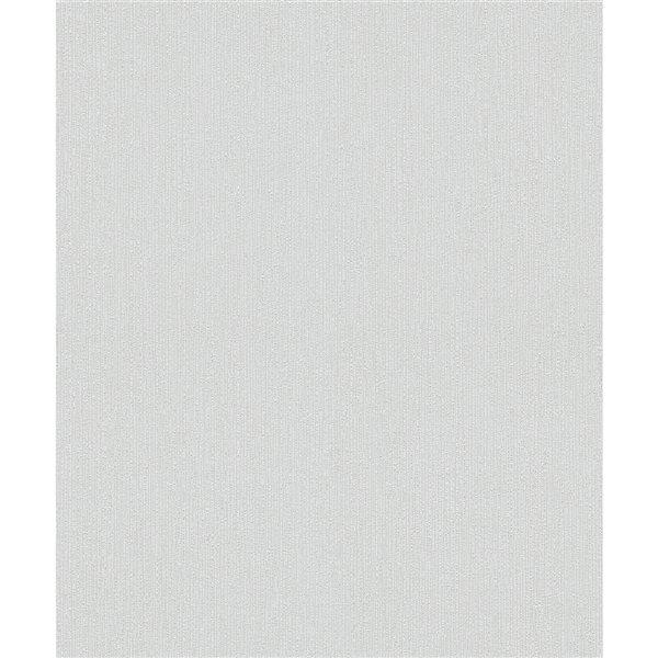 Papier peint en vinyle non encollé texturé Murni par Advantage couvrant 57,8 pi², gris