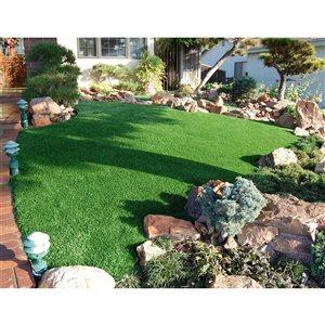 Tapis d'herbe artificielle Fescue par Green As Grass, 25 pi x 15 pi