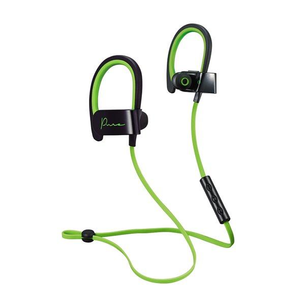 Écouteurs Pure Bluetooth de M noir et vert