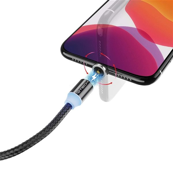 Câble de chargement universel 3 en 1 de CJ Tech, micro USB, noir
