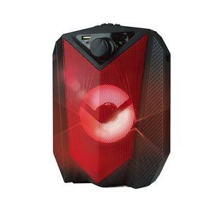 Haut-parleur stéréo Bluetooth 4 po ON45 True Wireless de M, rouge