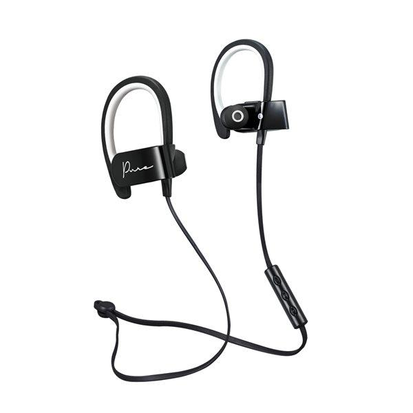 Écouteurs Pure Bluetooth de M noir et blanc