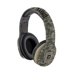U.S. Army Gaming Over Ear Wireless Bluetooth Headset - Army Green