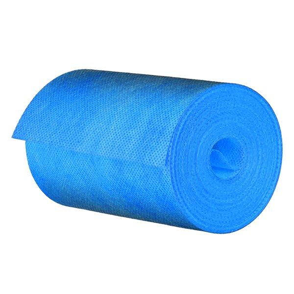 Bande de tissu bleu et étanche pour membrane Tooltech Xpert de 13pi2 en plastique