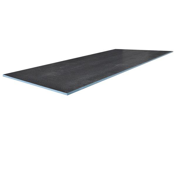 Panneau d'appui Tooltech Xpert en mousse de polystyrène résistant à l'eau, de 0,5 po x 60 po x 36 po