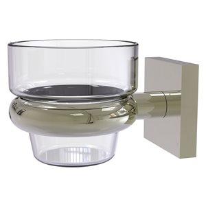 Allied Brass Montero Glass Votive Candle Holder in Polished Nickel