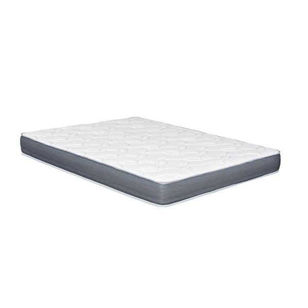 Matelas moelleux en mousse en mémoire de forme de 6,25 po Luna Collection par Primo, grand lit